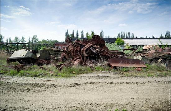 Kharkov tank repair plant, Ukraine view 2