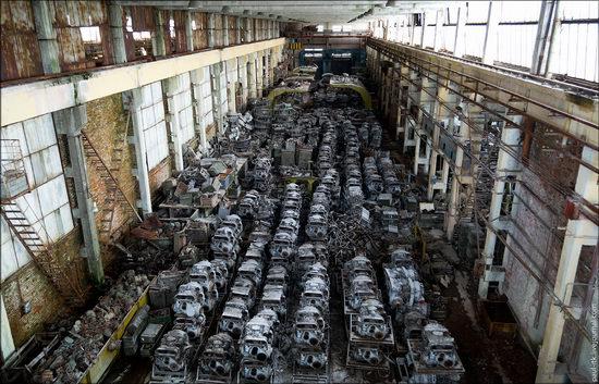 Kharkov tank repair plant, Ukraine view 21