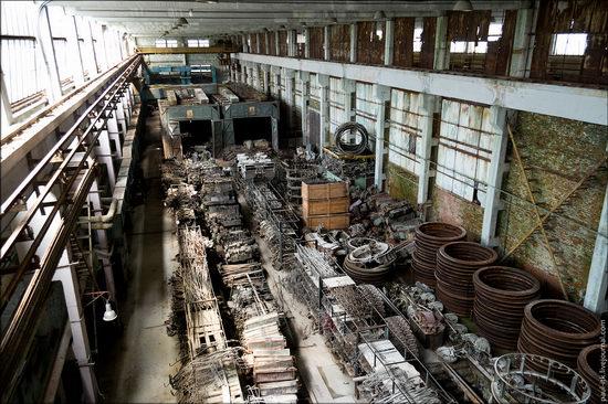 Kharkov tank repair plant, Ukraine view 22
