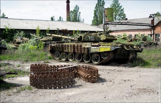 Kharkov tank repair plant, Ukraine view 24
