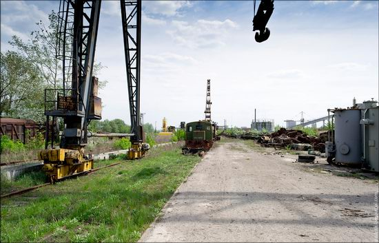 Kharkov tank repair plant, Ukraine view 25