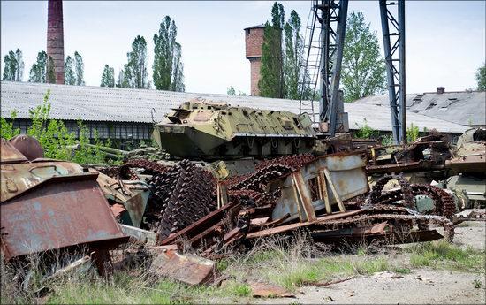 Kharkov tank repair plant, Ukraine view 3