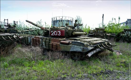 Kharkov tank repair plant, Ukraine view 4