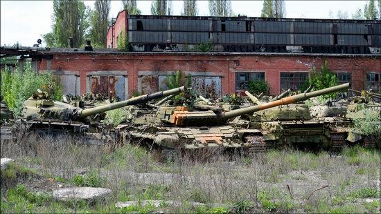 Kharkov tank repair plant, Ukraine view 5