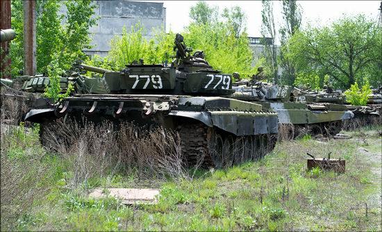 Kharkov tank repair plant, Ukraine view 6