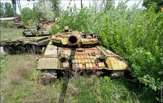 Kharkov tank repair plant, Ukraine view 7