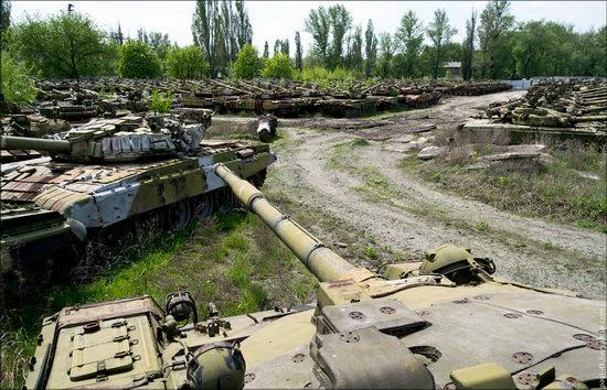 Kharkov tank repair plant, Ukraine view 8