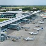 "The new terminal ""D"" of ""Borispol"" airport"