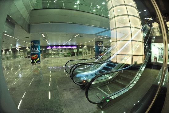 New terminal D, Borispol airport, Ukraine view 10