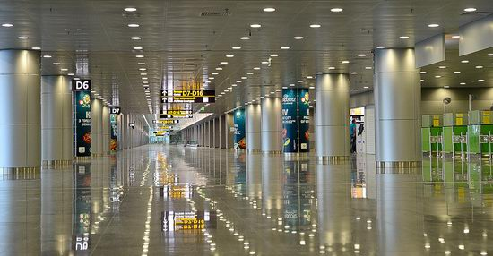 New terminal D, Borispol airport, Ukraine view 12