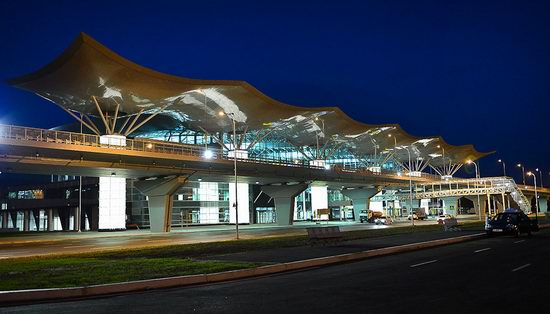 New terminal D, Borispol airport, Ukraine view 15
