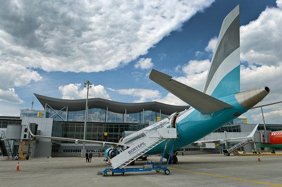 New terminal D, Borispol airport, Ukraine view 4