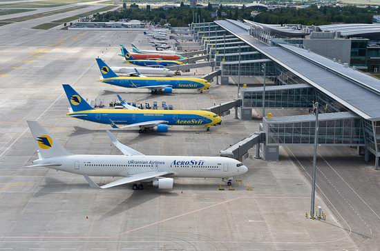 New terminal D, Borispol airport, Ukraine view 5