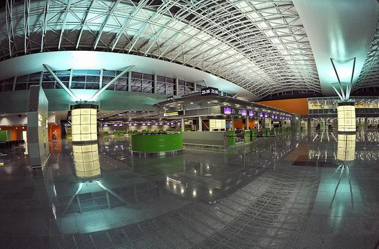 New terminal D, Borispol airport, Ukraine view 6