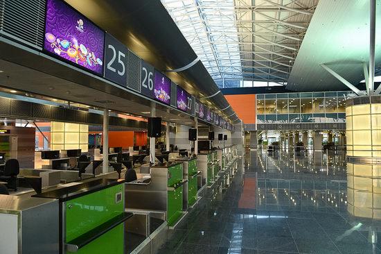 New terminal D, Borispol airport, Ukraine view 7