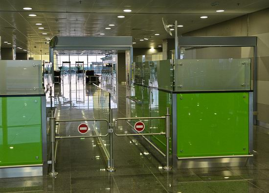 New terminal D, Borispol airport, Ukraine view 9