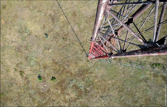 Climbing the 250 meter tower, Kharkov oblast, Ukraine photo 1