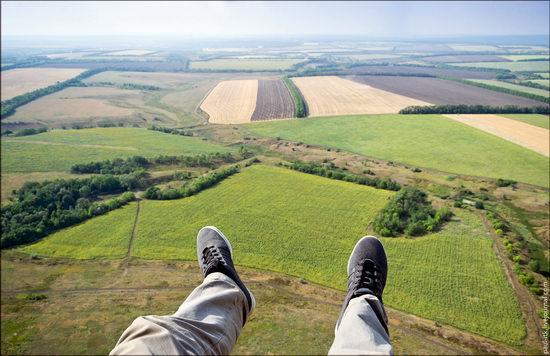 Climbing the 250 meter tower, Kharkov oblast, Ukraine photo 17