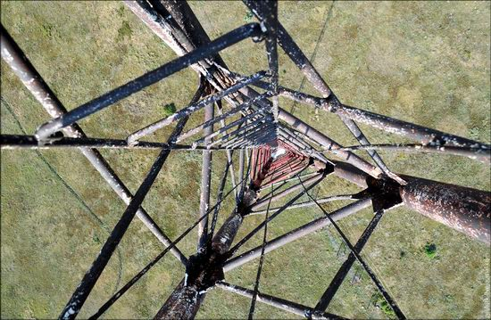 Climbing the 250 meter tower, Kharkov oblast, Ukraine photo 7