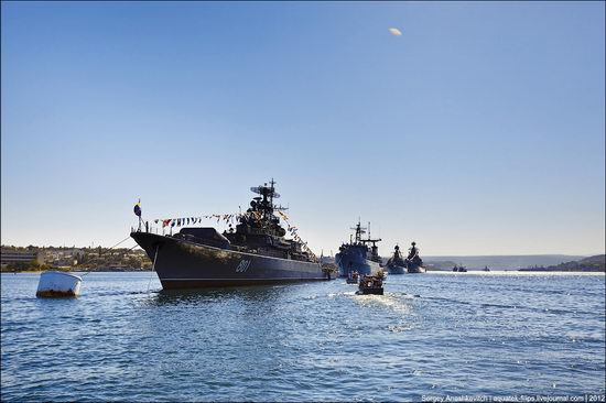 The parade on the day of the Navy in Sevastopol photo 1