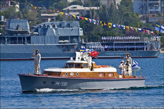 The parade on the day of the Navy in Sevastopol photo 13