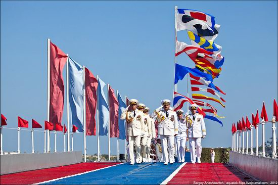 The parade on the day of the Navy in Sevastopol photo 14