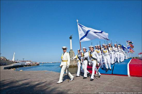 The parade on the day of the Navy in Sevastopol photo 15