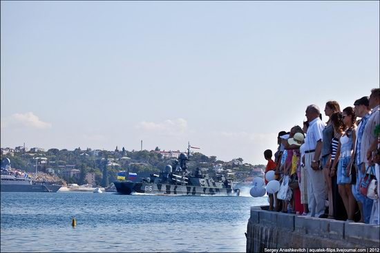 The parade on the day of the Navy in Sevastopol photo 17