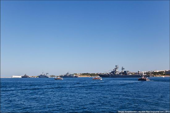 The parade on the day of the Navy in Sevastopol photo 2