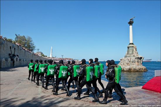The parade on the day of the Navy in Sevastopol photo 20