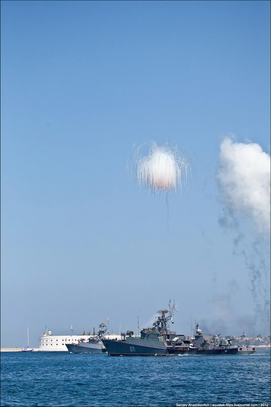 The parade on the day of the Navy in Sevastopol photo 22