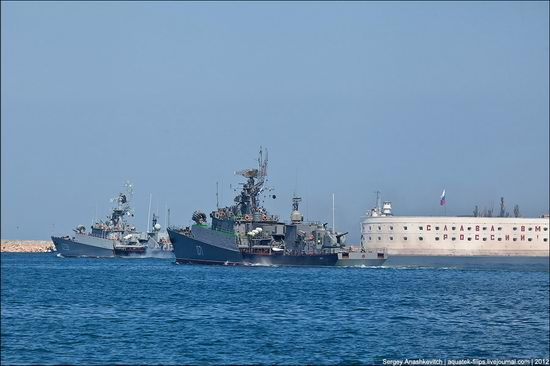 The parade on the day of the Navy in Sevastopol photo 23
