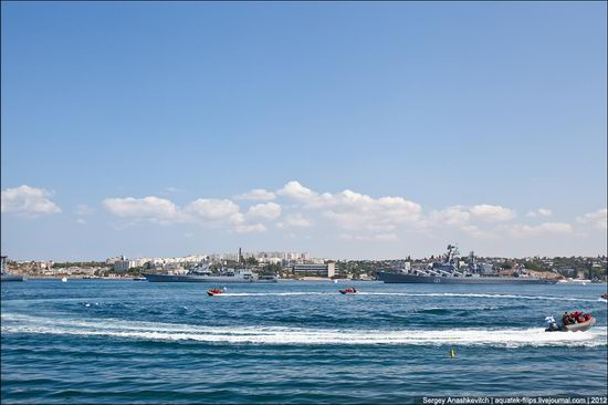 The parade on the day of the Navy in Sevastopol photo 26