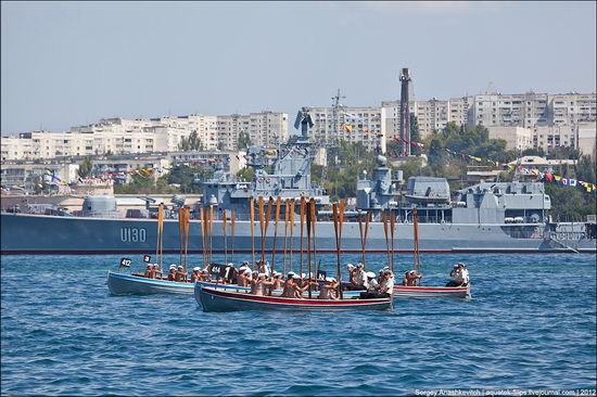 The parade on the day of the Navy in Sevastopol photo 27