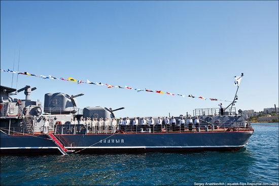 The parade on the day of the Navy in Sevastopol photo 4