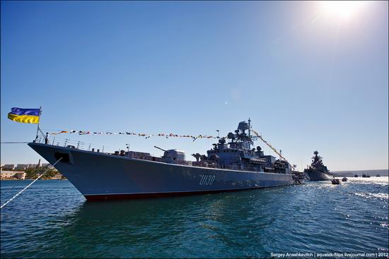 The parade on the day of the Navy in Sevastopol photo 5