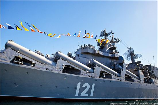 The parade on the day of the Navy in Sevastopol photo 7