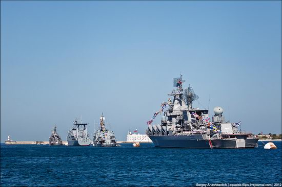 The parade on the day of the Navy in Sevastopol photo 9