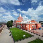 Beautiful railway stations of Ukrainian cities