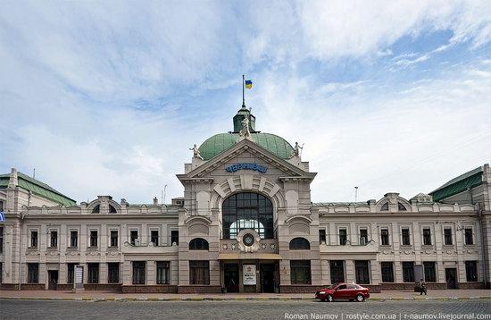 Chernovtsy railway station, Ukraine photo 1