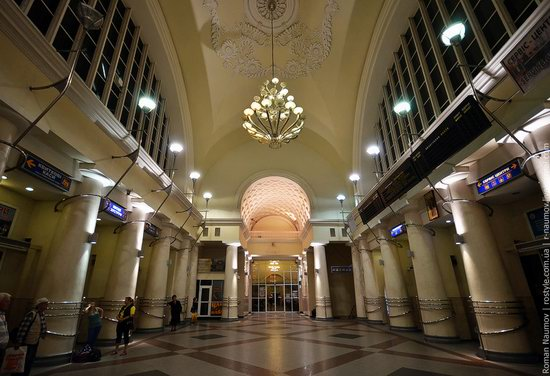 Dnepropetrovsk railway station, Ukraine photo 2