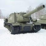 The story of abandoned Soviet tank destroyer ISU-152