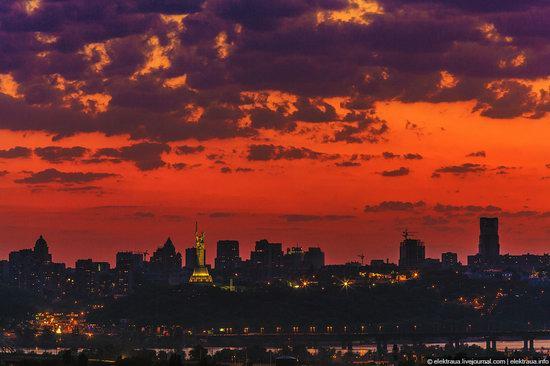 Kiev city, Ukraine evening time view 1