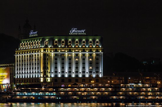 Kiev city, Ukraine evening time view 17