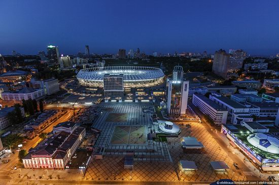 Kiev city, Ukraine evening time view 2