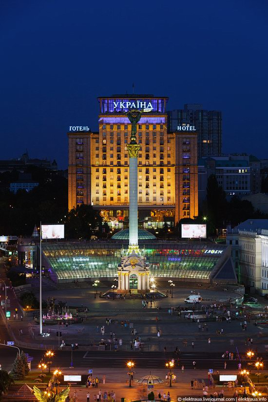 Kiev city, Ukraine evening time view 20