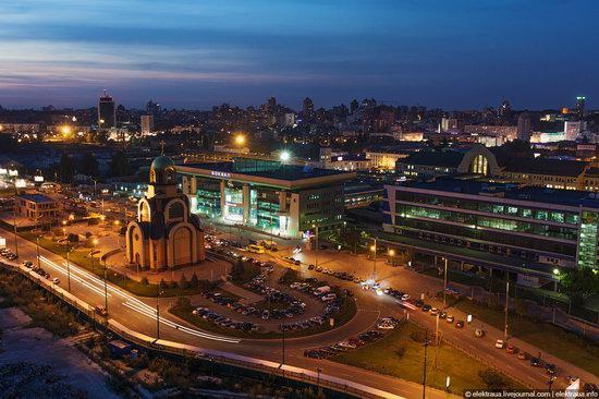 Kiev city, Ukraine evening time view 9
