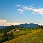 Picturesque landscapes of Zakarpattia region