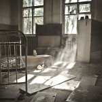 Abandoned kindergarten in the Chernobyl zone