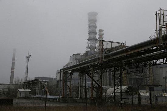 Chernobyl nuclear power station new sarcophagus, Ukraine photo 2